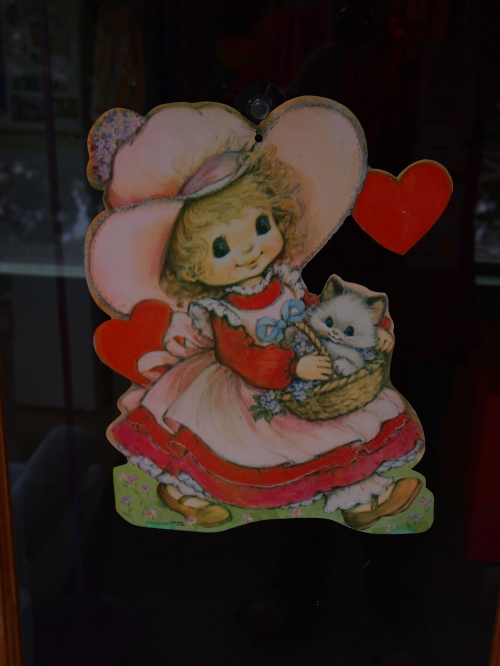 Valentine's wall decoration - two sided